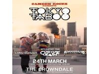 CAMDEN ROCKS PRESENTS TOKYO TABOO AND MORE AT CROWNDALE CLUB
