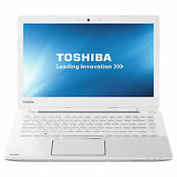 *WHITE TOSHIBA L40DT TOUCHSCREEN LAPTOP [8GB RAM] [1TB] [WIN 10]