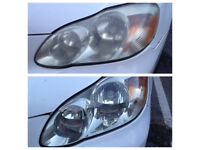 Headlight Restoration/Professional Headlight polishing