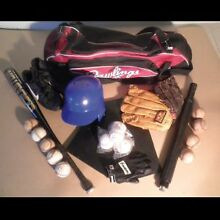 Baseball kit – a range of gear in really good nick