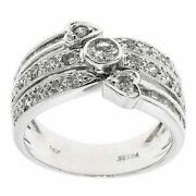 White Gold Diamond Cocktail Ring