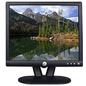 "Dell 17"" LCD Computer Monitor, VGA Input. Great Picure!"