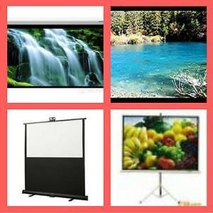 Weekly Promotion! eGalaxy Motorized projector screen,Fixed frame projector screen,Tripod Projector Screen ,
