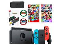 WANTED Nintendo switch and games