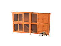 Pets at Home Bluebell Hideaway Guinea Pig and Rabbit Hutch 6ft X Large with cover
