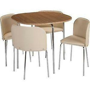 faux leather dining chairs ebay. oak dining table and 4 chairs faux leather ebay e