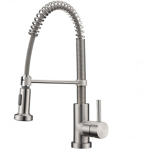 K107C (Kitchen Faucet pull out, Chrome Finish, Mod: Milano)