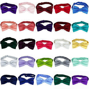 wedding and prom Bow Ties - Mens or Boys  Plain Design Strathcona County Edmonton Area image 3