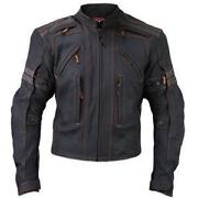 Motorcycle Jacket Armored Leather