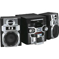 RCA 5 Disc audio system with iPod dock