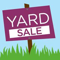 Yard sale 3 family