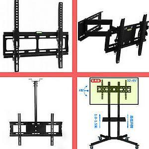Weekly Promo! TV Wall Mount Bracket, TV Stand, Ceiling TV Mount, DVD Shelf start from $9.99