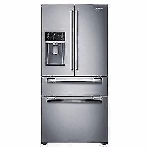 Réfrigérateur 25 pi³ Acier Inoxidable Samsung ( RF25HMEDBSR )