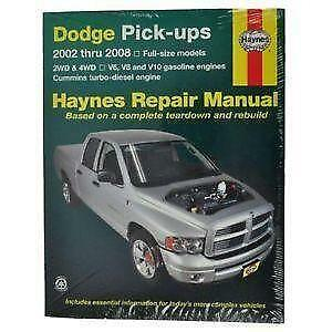 dodge ram 2006 2008 service repair manual download