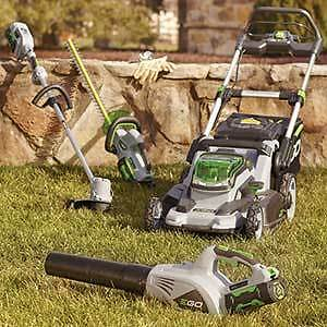 EGO- BATTERY POWERED LAWN & GARDEN EQUIPMENT