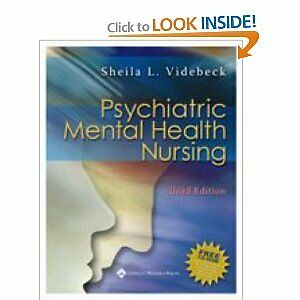 Used book for sale: Psychiatric mental health nursing, 3rd Ed.