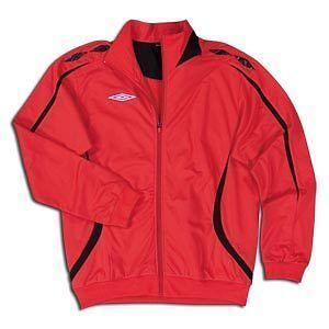 Umbro Fusion Jacket Red Soccer SZ AS