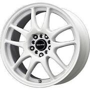 White Drag Wheels