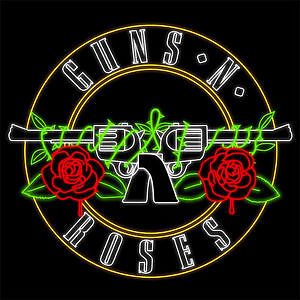 GUNS N ROSES - GENERAL ADMISSION PIT TICKETS- TD - AUG 21