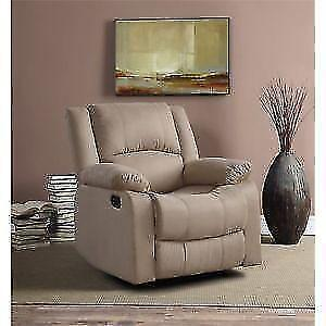Relax-A-Lounger Pittsburg Recliner in Beige by Lifestyle Solutio