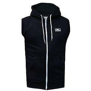 047bd36aaa2a55 Black Sleeveless Hoodies