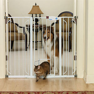 Top Paw Extra Tall Pet Gate - Pressure Mount Only