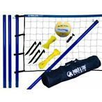 Park en Sun Spiker Steel volleybalset + beachvolleybal