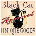 Black Cat Approved Unique Goods