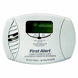 First Alert CO6156A Plug-in Carbon Monoxide Alarm with Battery B