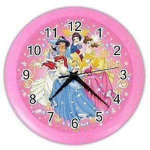Disney Princess Wall Clock Ebay
