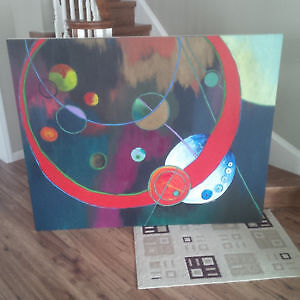 Abstract Canvas for home/office