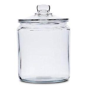 Decorative Kitchen Jars Small Glass