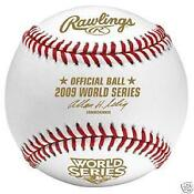 2009 World Series Baseball