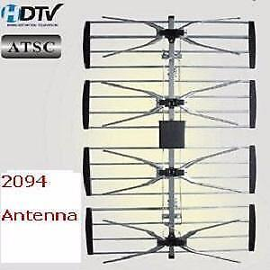 Weekly promo! 4 bay HDTV Antenna, 12-15dB, Electronic master ANT-2094 $29.99(was$39.99)  High Quality, Low Prices for bo