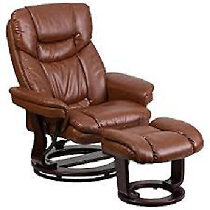 Flash Furniture BT-7821-VIN-GG Contemporary Brown Vintage L.