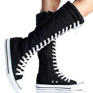 a6e0bd0376dd7e Knee High Sneakers  Women s Shoes