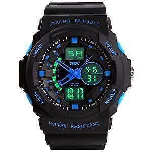 Waterproof watches digital sports gps ebay for Under water watches