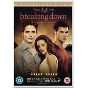 Twilight Breaking Dawn Part 1 DVD