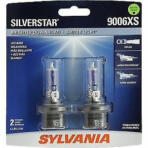 Sylvania Silverstar 9006XS ST/2 Headlight Bulbs