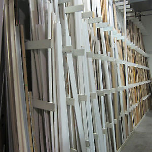 Assorted New and Used Trim