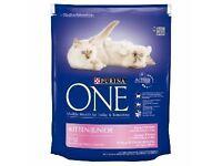 2 Bags of Unopened Purina Kitten Food