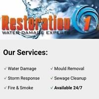 Water Damage Or Mould? Restoration1 Can Help!