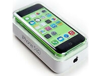 APPLE iPhone 5C 8GB GREEN, MINT AS NEW, BOXED WITH ACCESSORIES, UNLOCKED, 6 MONTHS WARRANTY