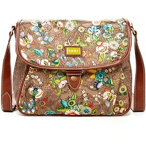 Oilily Shoulder Purse - French Flowers pattern