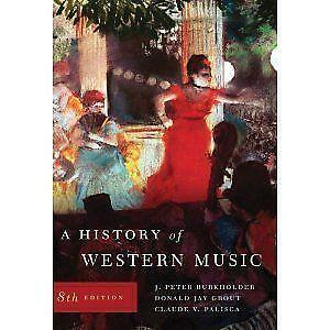 History of western music books ebay fandeluxe Choice Image