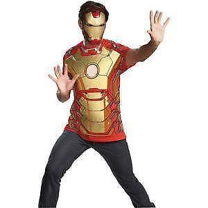 Iron man costume ebay - Masque iron man adulte ...