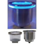 Blue LED Cup Holder
