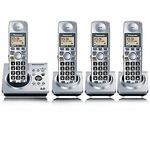 Panasonic KX-TG1031CS DECT 6.0 4 handsets / answering machine