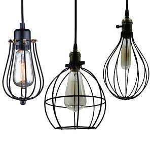 caged lighting. vintage cage lights caged lighting n