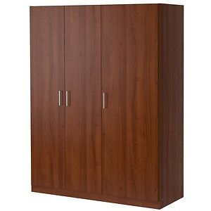ikea dombas wardrobe used dark brown in southampton. Black Bedroom Furniture Sets. Home Design Ideas